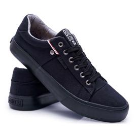 Men's Big Star Sneakers Black AA174096 6