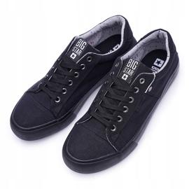 Men's Big Star Sneakers Black AA174096 4