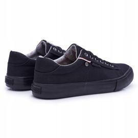 Men's Big Star Sneakers Black AA174096 2