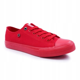 Big Star Men's Low Sneakers Red AA174007SS19 2