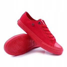 Big Star Men's Low Sneakers Red AA174007SS19 4