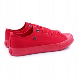 Big Star Men's Low Sneakers Red AA174007SS19 3