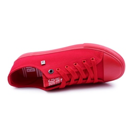 Big Star Men's Low Sneakers Red AA174007SS19 5