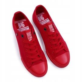 Big Star Men's Low Sneakers Red AA174007SS19 1