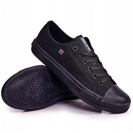 Big Star Mens Low Sneakers Black AA174009SS19 6