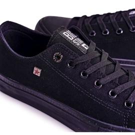 Big Star Mens Low Sneakers Black AA174009SS19 4
