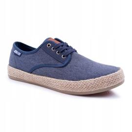 Big Star Espadrilles Men's Sneakers Dark Blue AA174174 navy 1