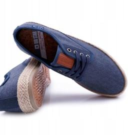 Big Star Espadrilles Men's Sneakers Dark Blue AA174174 navy 4