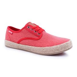 Big Star Espadrilles Men's Sneakers Red AA174173 1
