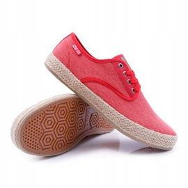 Big Star Espadrilles Men's Sneakers Red AA174173 3