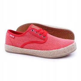 Big Star Espadrilles Men's Sneakers Red AA174173 4