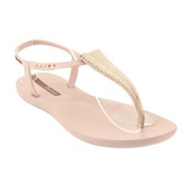 Ipanema 82862 flip-flop sandals pink yellow 1