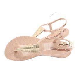 Ipanema 82862 flip-flop sandals pink yellow 4