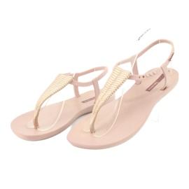 Ipanema 82862 flip-flop sandals pink yellow 3