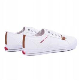 Men's Cross Jeans Classic Material White DD1R4029 2