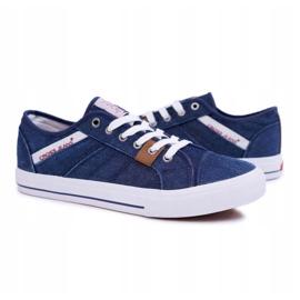 Sneakers Men Cross Jeans Classic Jeans Dark Blue DD1R4027 navy 6