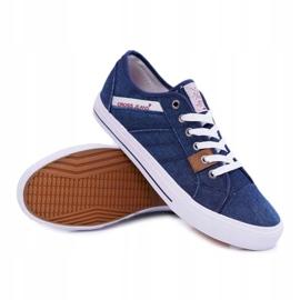 Sneakers Men Cross Jeans Classic Jeans Dark Blue DD1R4027 navy 3