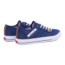Sneakers Men Cross Jeans Classic Jeans Dark Blue DD1R4027 navy 2