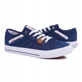 Sneakers Men Cross Jeans Classic Jeans Dark Blue DD1R4027 navy 4