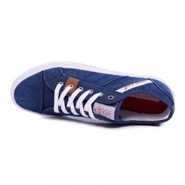 Sneakers Men Cross Jeans Classic Jeans Dark Blue DD1R4027 navy 5
