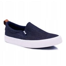 Big Star Jeans Mens Sneakers Dark Blue DD174161 navy 1