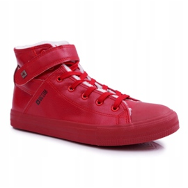 Men's Big Star Sneakers Warmed Red Y174025FW 4