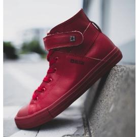 Men's Big Star Sneakers Warmed Red Y174025FW 3