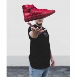 Men's Big Star Sneakers Warmed Red Y174025FW 1