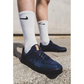 Big Star Sneakers Suede Navy Blue EE174363 1