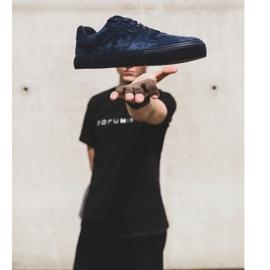 Big Star Sneakers Suede Navy Blue EE174363 4