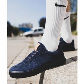 Big Star Sneakers Suede Navy Blue EE174363 2