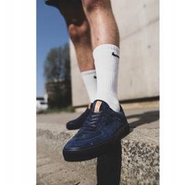 Big Star Sneakers Suede Navy Blue EE174363 3