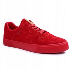 Big Star Suede Men's Sneakers Red EE174364 5