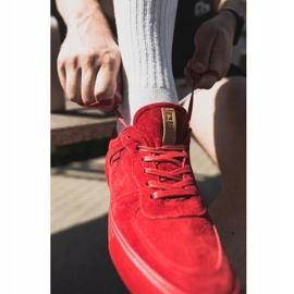 Big Star Suede Men's Sneakers Red EE174364 1
