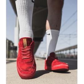 Big Star Suede Men's Sneakers Red EE174364 3