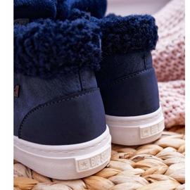 Big Star Girls 'Boys' Booties Navy Blue EE374018 1