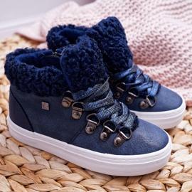 Big Star Girls 'Boys' Booties Navy Blue EE374018 2