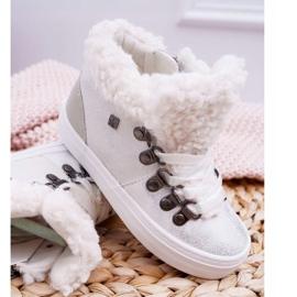 Big Star Baby Girls' Boots White EE374017 4
