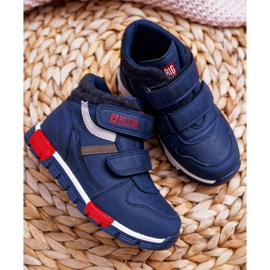 Big Star Boys' Baby Booties Navy Blue EE374065 2