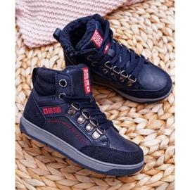 Boys 'Big Star Boys' Shoe Sheep Navy Blue EE374088 1