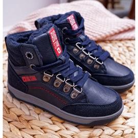 Boys 'Big Star Boys' Shoe Sheep Navy Blue EE374088 3