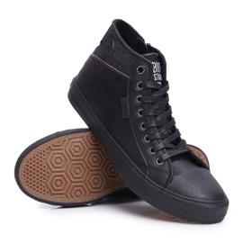 Big Star Black Men's High Top Sneakers EE174102 3