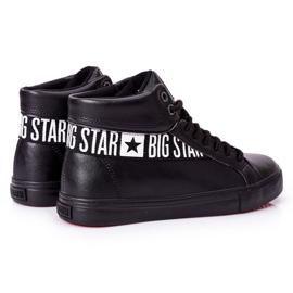 Big Star Men's High Sneakers Black EE174339 3
