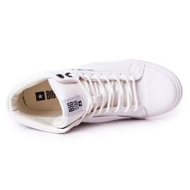 Big Star Mens High Sneakers White EE174340 1