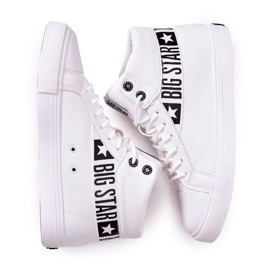 Big Star Mens High Sneakers White EE174340 2