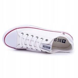 Men's Big Star Sneakers White DD174271 4
