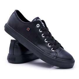 Men's Big Star Sneakers Black V174345 7