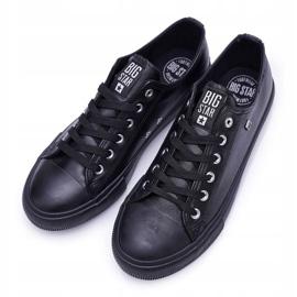 Men's Big Star Sneakers Black V174345 5