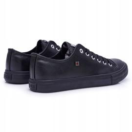 Men's Big Star Sneakers Black V174345 2