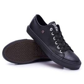 Men's Big Star Sneakers Black V174345 3